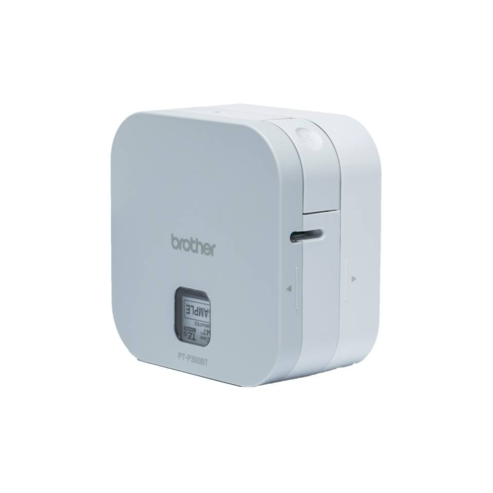 Brother PTP300BT PT-P300BT P-Touch Cube White Version... 012502643975