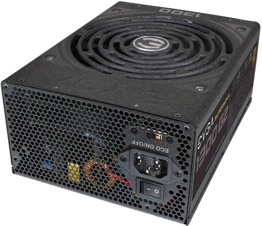 EVGA 120G21300XR 120-G2-1300-XR 1300W SUPERNOVA 1300 G2 ATX EPS12V POWER SUP 80PLUS GOLD RATED (ORDERED AS NEEDED FROM MFG) (RETURNS / EXCHANGES: SEALED PRODUCT ONLY) 843368024550