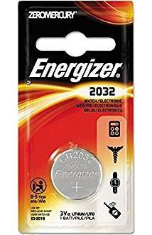 Energizer ECR2032BP ECR2032BP 3V LITHIUM CELL BATTERY (RETURNS / EXCHANGES: DEFECTIVE PRODUCT ONLY) 039800088635
