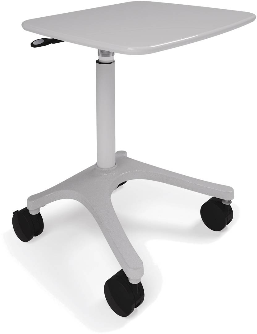 Ergotron ZAH25CG/CG4 - Zido 25 Adjustable-height Cart Heavy Load - click for details.