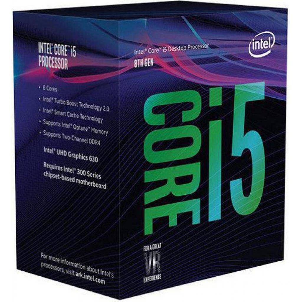 Intel BX80684I58600K - Boxed 8th Gen Core I5-8600k Proc Multimedia 961570 Coffee Lake - click for details.