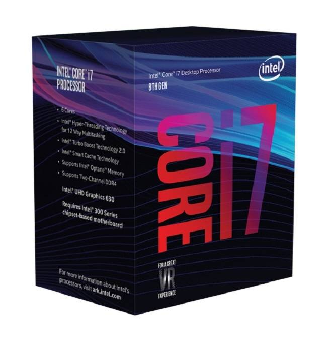 Intel BX80684I78700 - Boxed 8th Gen Core I7-8700 Proc Multimedia 961567 Coffee Lake - click for details.