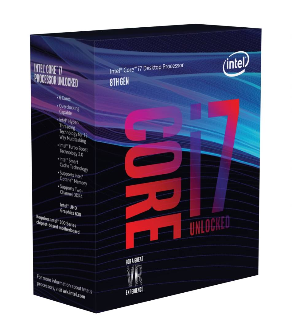 Intel BX80684I78700K - Boxed 8th Gen Core I7-8700k Proc Multimedia 961566 Coffee Lake - click for details.