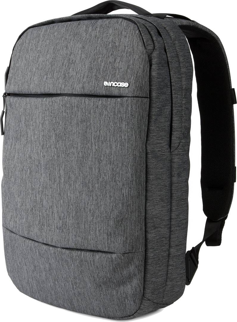 Incase CL55571 - City Collection Compact Backpack Heather Black Gunmetal Gray - click for details.